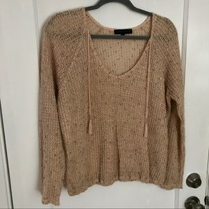 Sanctuary open knit sweater